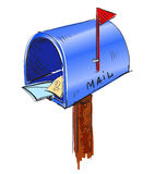 Mailbox cartoon icon Stock Photography