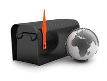 Mailbox - concept illustration Royalty Free Stock Image