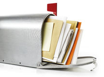 Mailbox with correspondence Stock Photography