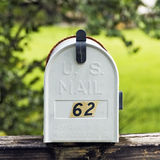 Mailbox in the Country Side Stock Image
