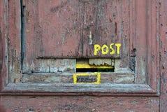 Mailbox at the door Stock Photos