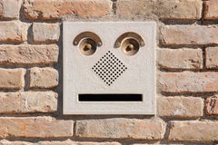 Mailbox with a face Stock Photos