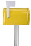 Mailbox with flag royalty free stock photography