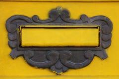 Mailbox flap Royalty Free Stock Photos