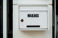 Mailbox. In front of my house Royalty Free Stock Photos