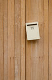 Mailbox at home Royalty Free Stock Images