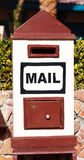 Mailbox in the hotel Stock Photography