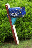 Mailbox im Kakao-Strand Stockbilder