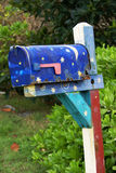 Mailbox im Kakao-Strand Stockfotos