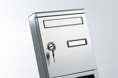 Mailbox isolated Royalty Free Stock Photo