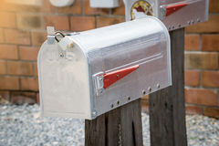 Mailbox and mail royalty free stock photos