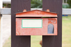 A mailbox Royalty Free Stock Images