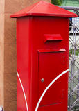 Mailbox. A plain Red Stock Images