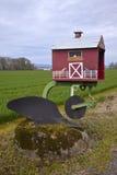 Mailbox plow, Oregon. royalty free stock photo