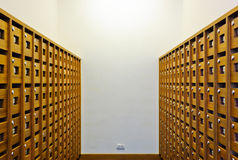 Mailbox room Stock Images