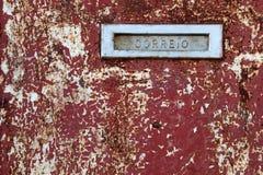 Mailbox-Schlitz Lizenzfreie Stockbilder