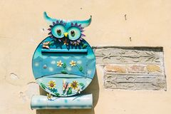 Mailbox. In the shape of owl Stock Image