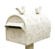 Mailbox vintage style Stock Photo