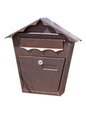 Mailbox on white Royalty Free Stock Image