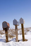 Mailboxes Stock Images