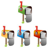 Mailboxes Royalty Free Stock Images