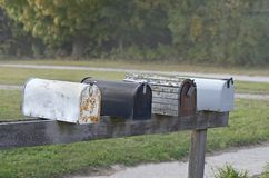 Mailboxes Stockfotografie