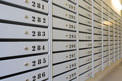Free Mailboxes Royalty Free Stock Photo - 34216835