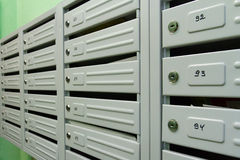 mailboxes Images stock