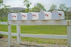 mailboxes Fotografia Stock Libera da Diritti