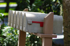 mailboxes stockbilder