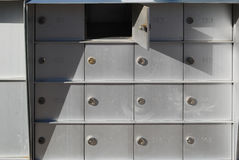 mailboxes Photographie stock
