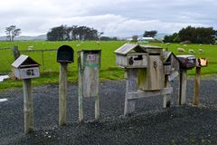 mailboxes Imagens de Stock Royalty Free