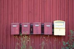 mailboxes Стоковое Изображение RF