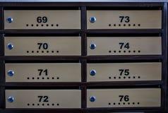mailboxes Immagine Stock Libera da Diritti