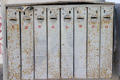 Mailboxes Stock Photos