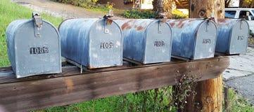 mailboxes Immagini Stock Libere da Diritti