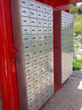 Mailboxes Stock Image