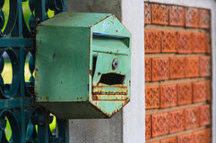 Mailboxes home page. Stock Photo