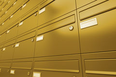 Mailboxes. Royalty Free Stock Images