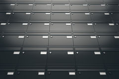 Mailboxes. Stock Photo