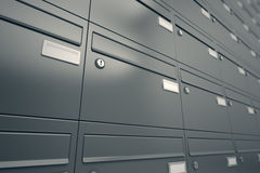 Mailboxes. Royalty Free Stock Photos