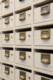 Mailboxs Fotos de archivo libres de regalías