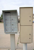 mailboxs drogowi Obraz Royalty Free