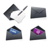 Mailen Sie Ikone Lizenzfreie Stockbilder