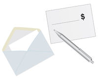 Mailing envelope Royalty Free Stock Photography