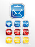 Mailing label Royalty Free Stock Images