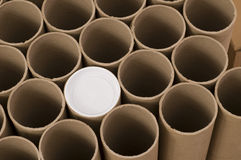Mailing Tubes Stock Photography