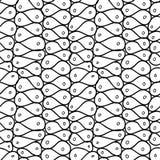 Maille abstraite de griffonnage Configuration sans joint photos libres de droits