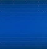 Maille bleue en métal Photos stock