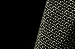 Maille de microphone photo stock